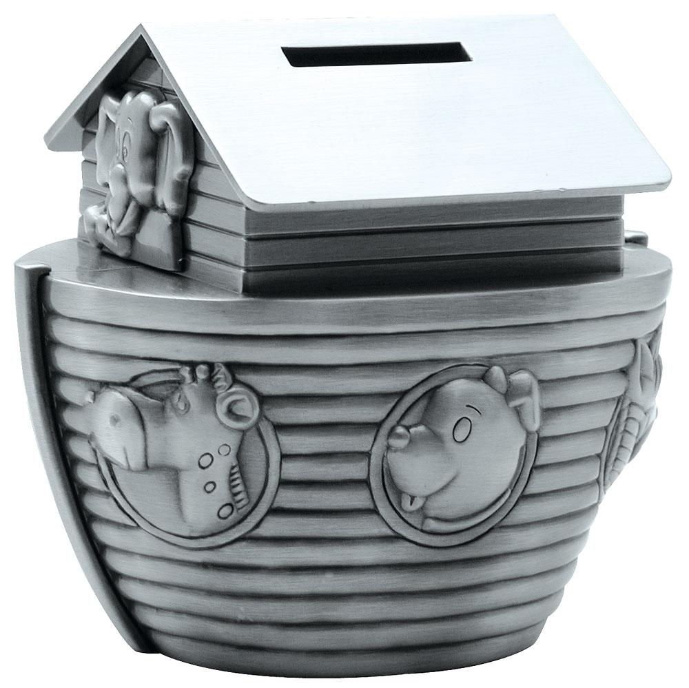 Billede af Fortinnet sparebøsse Noahs ark - 152-76615
