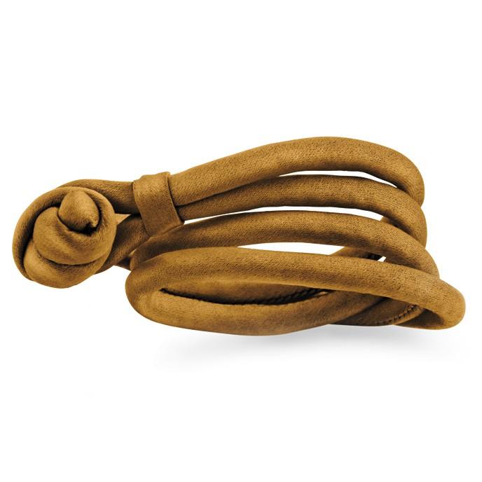 Image of   Ole Lyngggard Camel silkearmbånd - A2538 Medium - 38-40 centimeter