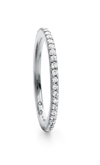 Ole Lynggaard Love band ring - A2600-502