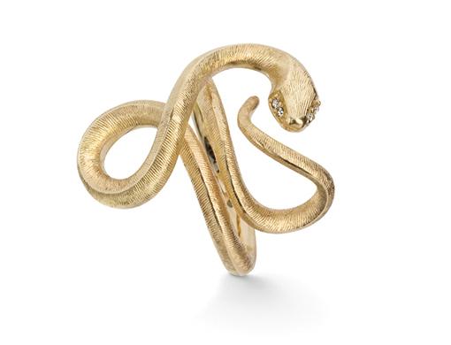 Ole Lynggaard Snake ring   - A2674-401 Størrelse 53
