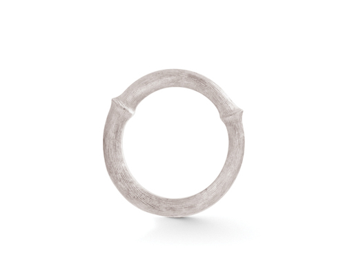 Ole Lynggaard Nature ring i hvidguld - A2683-501 Rhodineret hvidguld 56