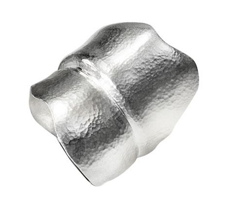 Image of   Ole Lynggaard large Blad Ring blank sølv - A3010-301 Størrelse 52