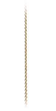Ole lynggaard 18 kt rødguld kæde - c0070-402 fra ole lynggaard på brodersen + kobborg