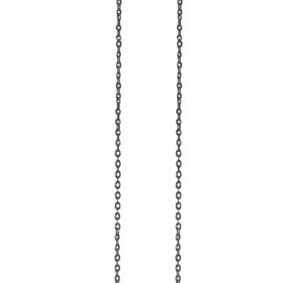 Billede af Ole Lynggaard Oxyderet sølv anker kæde - C0071-301