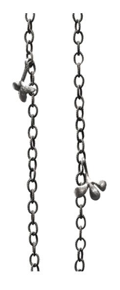 Image of   Ole Lynggaard snoet oxyderet sølv kæde - mellem - C2009-302
