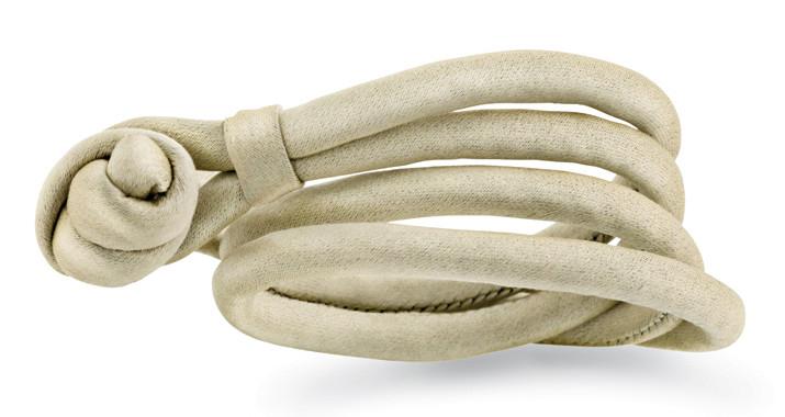 Image of   Ole Lynggaard Beige silkearmbånd - A2540 Large - 40-42 centimeter