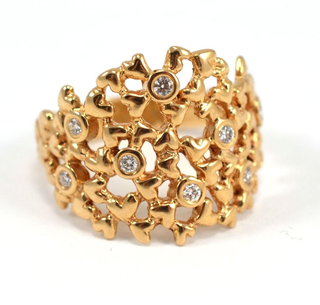 Per Borup Heart Ring - 937RY Størrelse 55