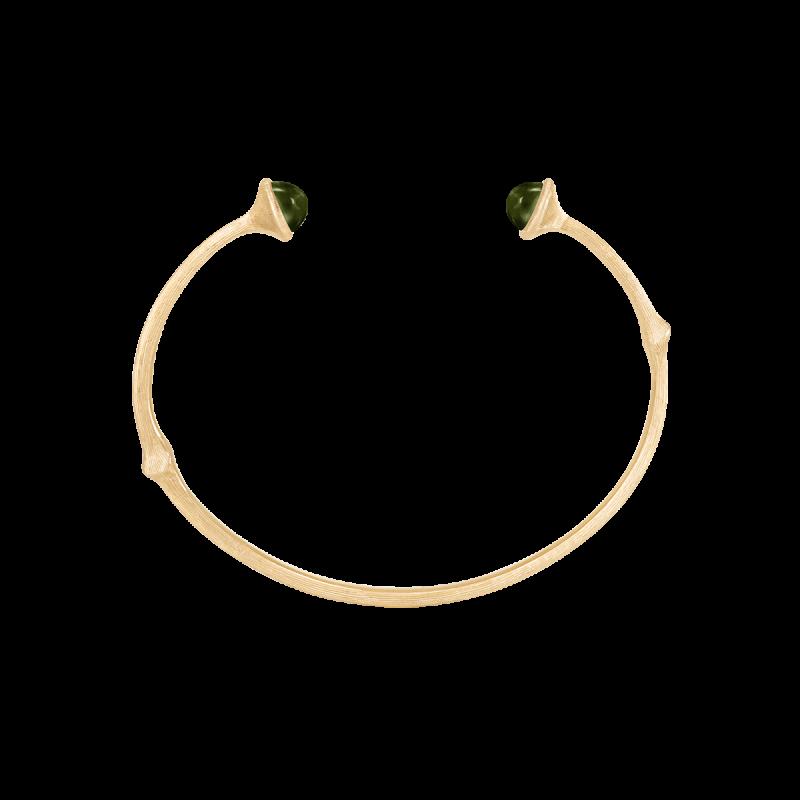 Image of Ole Lynggaard Nature armbånd med grøn turmalin
