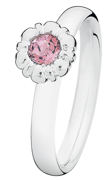 Image of   SPINNING BIRTHSTONE RING - 010-11 M