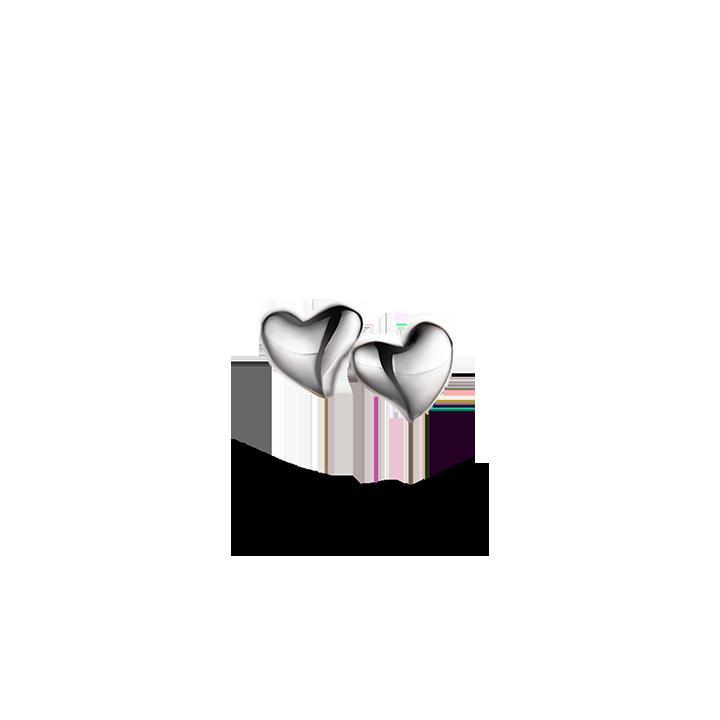 Image of   Spirit Icons winter heart ørestikker - 40001