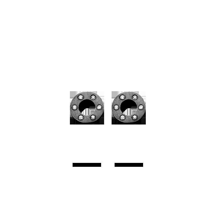 Image of   Spirit Icons wheel ørestikker - 40033