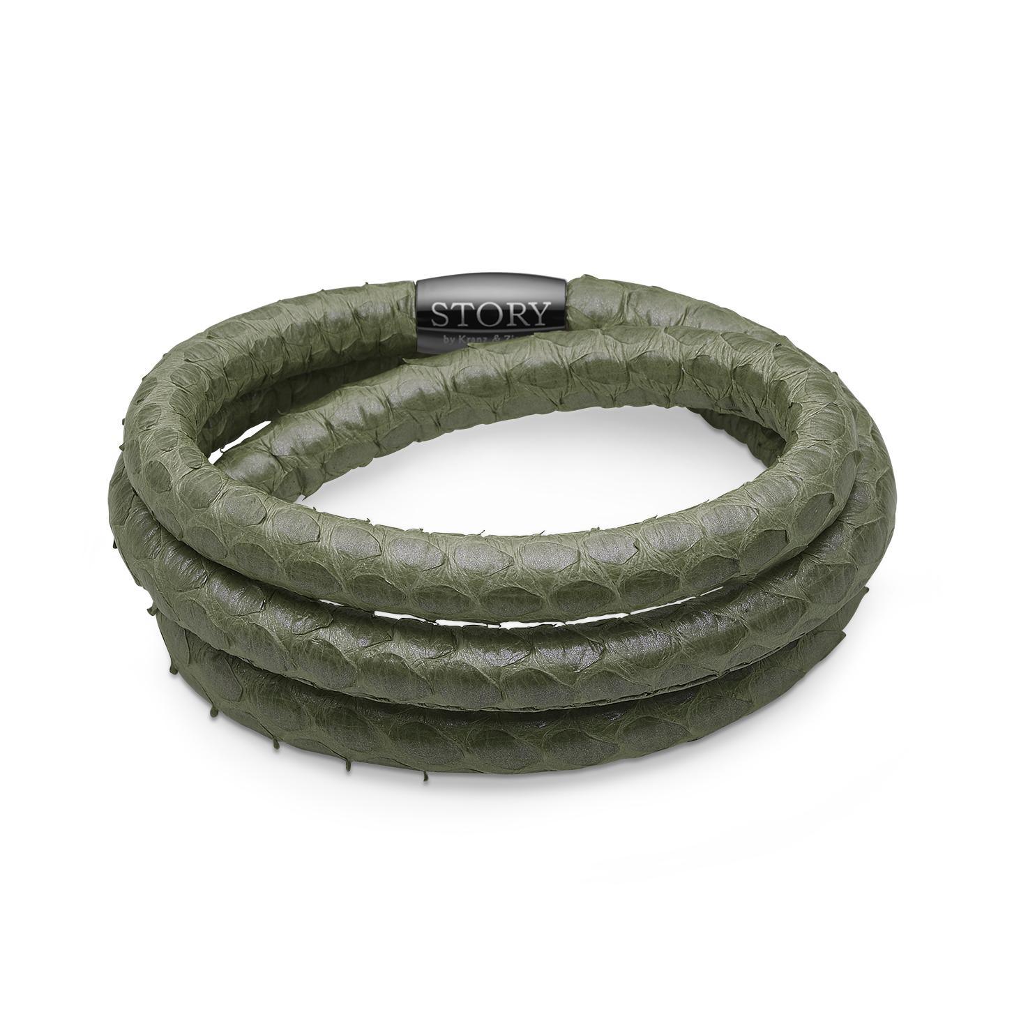 STORY læderarmbånd - 1004869 57 centimeter