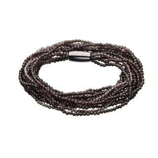 STORY armbånd - røgkvarts - 1404869 57 centimeter