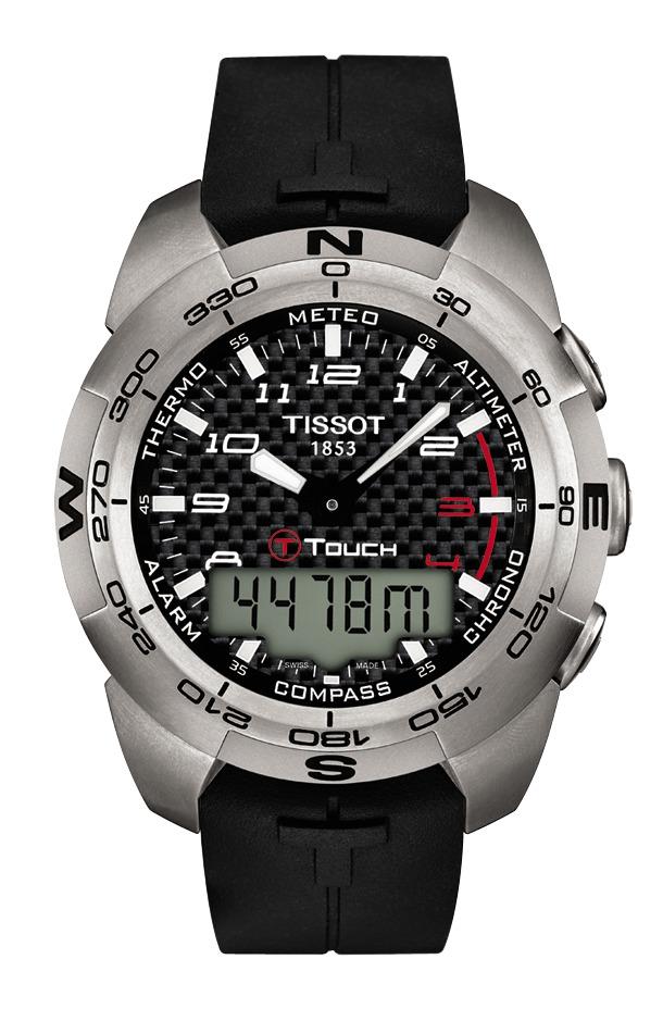 tissot ure Tissot t-touch expert - t0134204720200 fra brodersen + kobborg