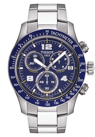 tissot ure Tissot v8 - t0394171104702 på brodersen + kobborg