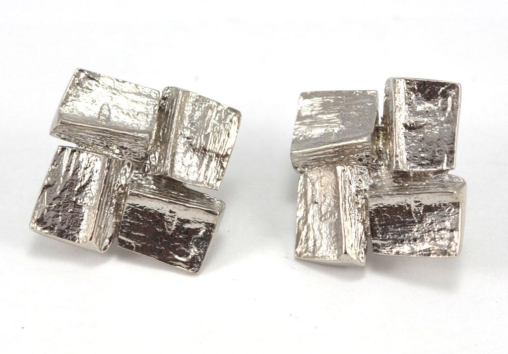Image of   TOFTEGAARD Rocks øreclips - Ø189-CLIPS