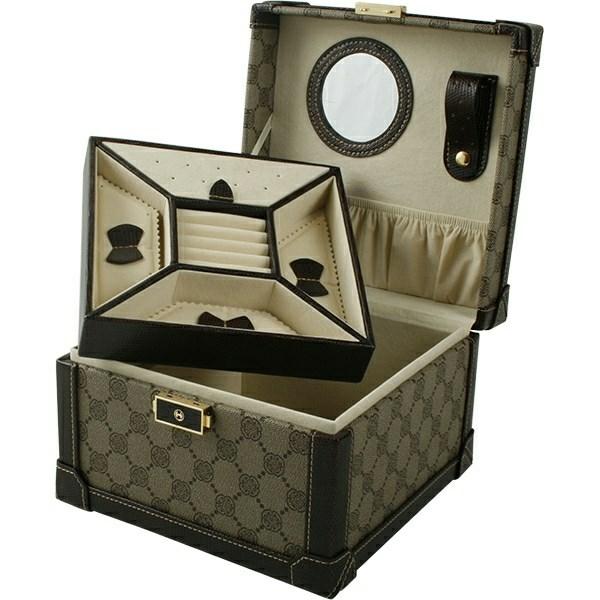 westpack – Skykkeskrin i beige stof - 02819050000 fra brodersen + kobborg